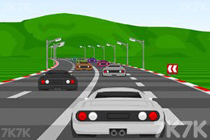 《极品飙车赛》游戏画面1