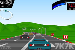《极品飙车赛》游戏画面4