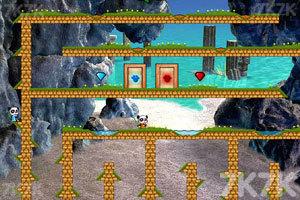 《冰火熊猫大冒险2无敌版》游戏画面9