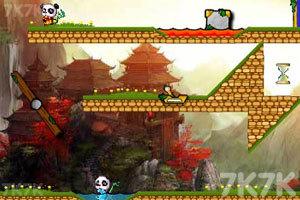 《冰火熊猫大冒险2无敌版》游戏画面7