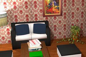 《寂静客厅逃脱》游戏画面1