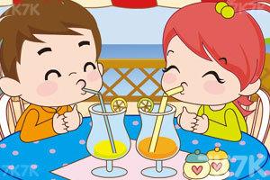 《小情侣喝果汁PK》截图8