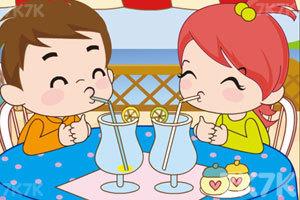 《小情侣喝果汁PK》截图1