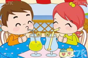 《小情侣喝果汁PK》截图9