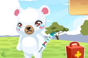 《照顾可爱熊宝宝》游戏画面1