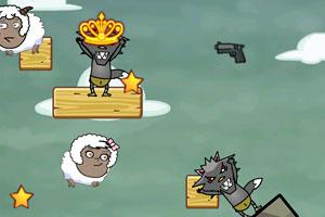《狼出没大冒险选关版》游戏画面1