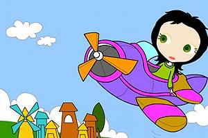 《莉莉开飞机》游戏画面1