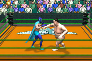 《超级摔角比赛》游戏画面1
