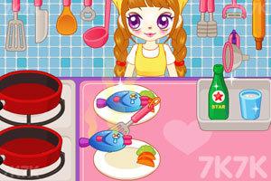 《阿sue做营养快餐》游戏画面6