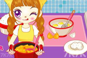 《阿sue做营养快餐》游戏画面1