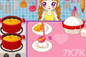《阿sue做营养快餐》游戏画面5