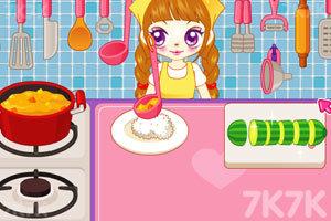 《阿sue做营养快餐》游戏画面3