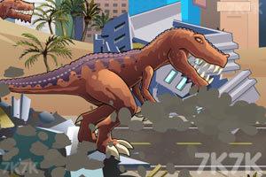 《恐龍大戰火箭車》游戲畫面10