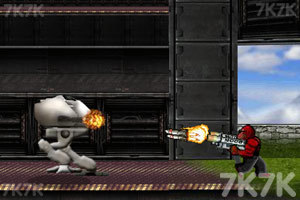 《猩猩大战外星人》游戏画面2