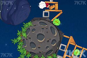 《愤怒的小鸟太空版HD》游戏画面10