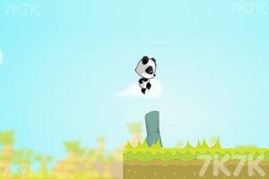 《熊猫吃金币》截图1