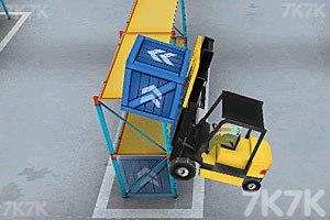 《3D仓库叉车》游戏画面6
