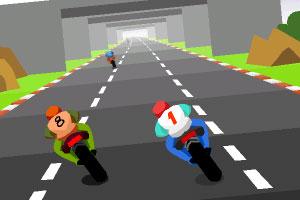 《公路摩托漂移赛》游戏画面1