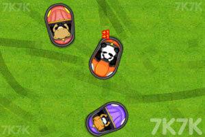 《小浣熊碰碰车》游戏画面6