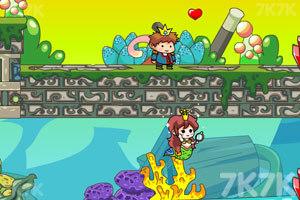 《私奔的人鱼公主》游戏画面3