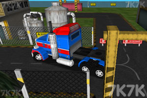 《3D货运大卡车》截图2
