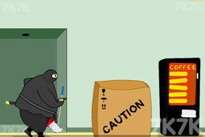 《胖忍者打保安》游戏画面2