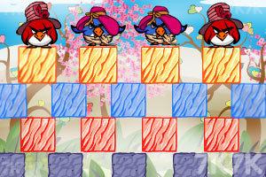 《不愤怒的小鸟情人节版》游戏画面1