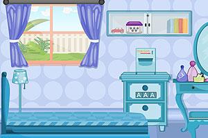 《舒适卧室逃脱》游戏画面1