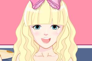《公主美美的发型》游戏画面1