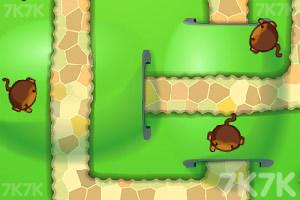 《小猴子守城4V1.26版》游戏画面10
