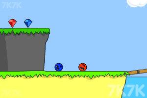 《小球找钻石》游戏画面3