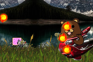 《彩虹猫大冒险》游戏画面1