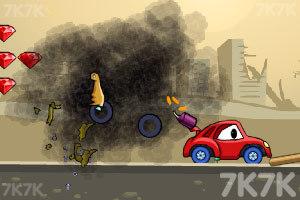 《大車吃小車2無敵版》游戲畫面4