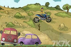 《摩托特技越野赛》游戏画面3