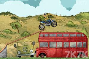 《摩托特技越野赛》游戏画面1