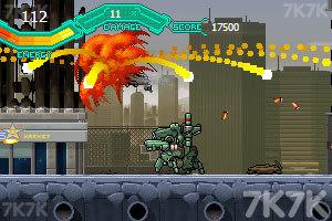 《疯狂机械人》游戏画面6