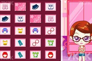 《阿sue整理衣柜》游戏画面1