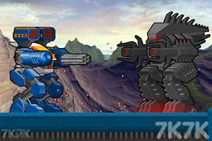 《機器人大對戰中文版》游戲畫面1