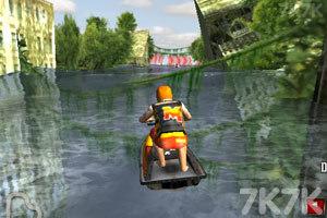 《3D极限摩托艇》游戏画面2
