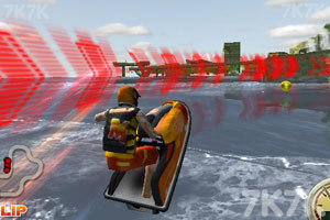 《3D极限摩托艇》游戏画面3