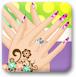 可爱的指甲