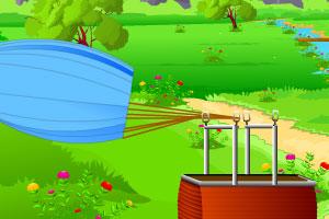 《坠落的热气球逃生》游戏画面1