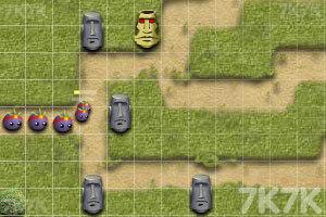 《复活节岛塔防》游戏画面4
