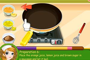 《泰莎做煎饼》游戏画面1