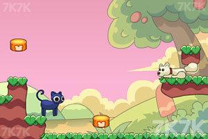 《友爱的猫猫与狗狗》游戏画面3