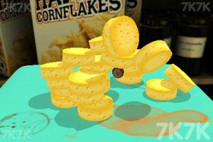 《偷吃桌上的奶酪》游戏画面1