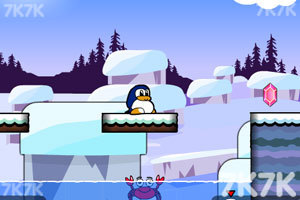 《小企鹅爱吃鱼2无敌版》游戏画面7