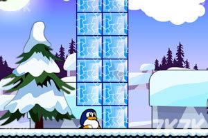 《小企鹅爱吃鱼2无敌版》游戏画面3