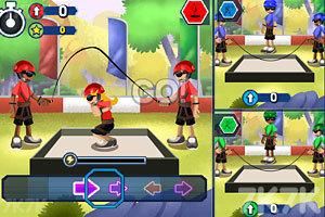 《铁人三项大赛》游戏画面1