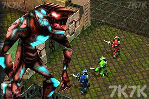 《异形空间-团队力量》游戏画面1